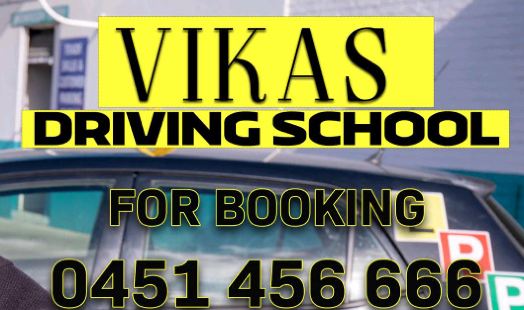 Vikas Driving School Melbourne - Cheap Indian Driving Lessons